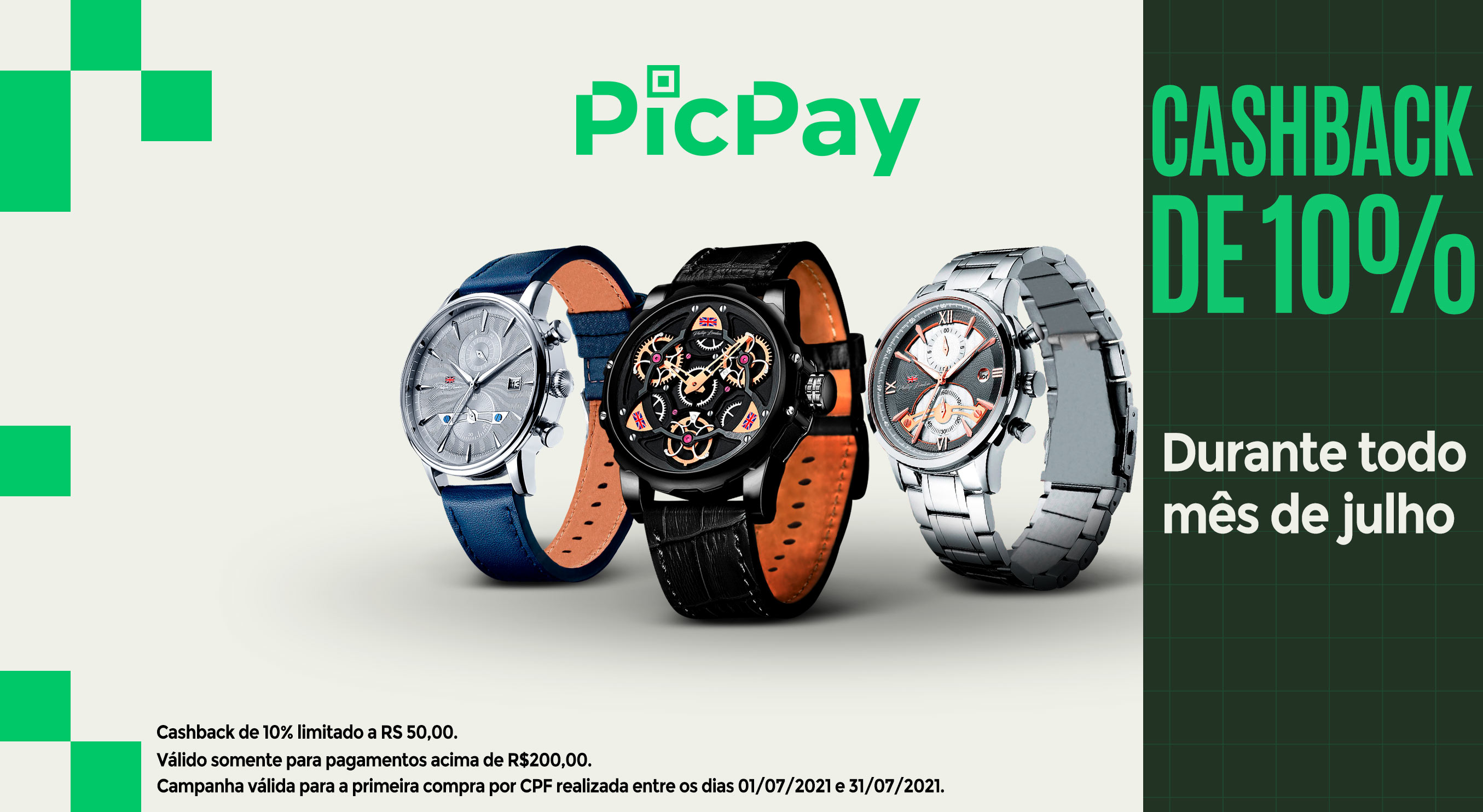 Banner PICPAY mobile