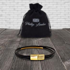 saco-e-pulseira-couro-dourado-forte